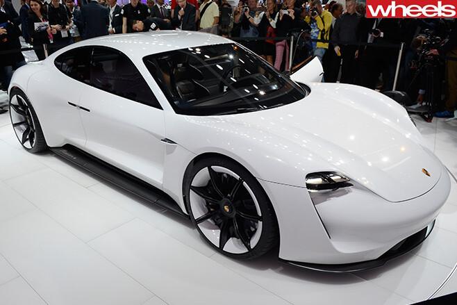 Porsche -Mission -E-Concept -Car -Showroom