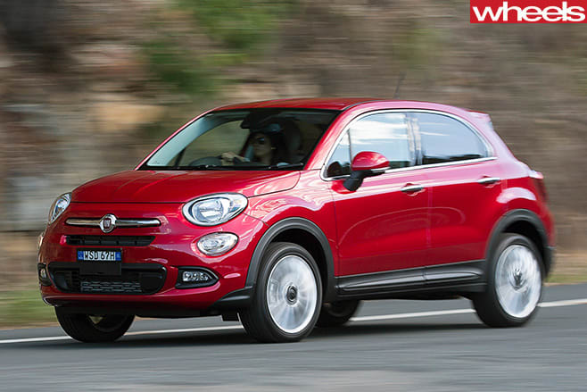 Fiat -500x -front -side