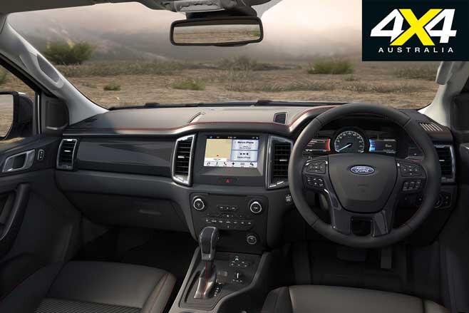 2020 Ford Ranger FX 4 Interior Jpg