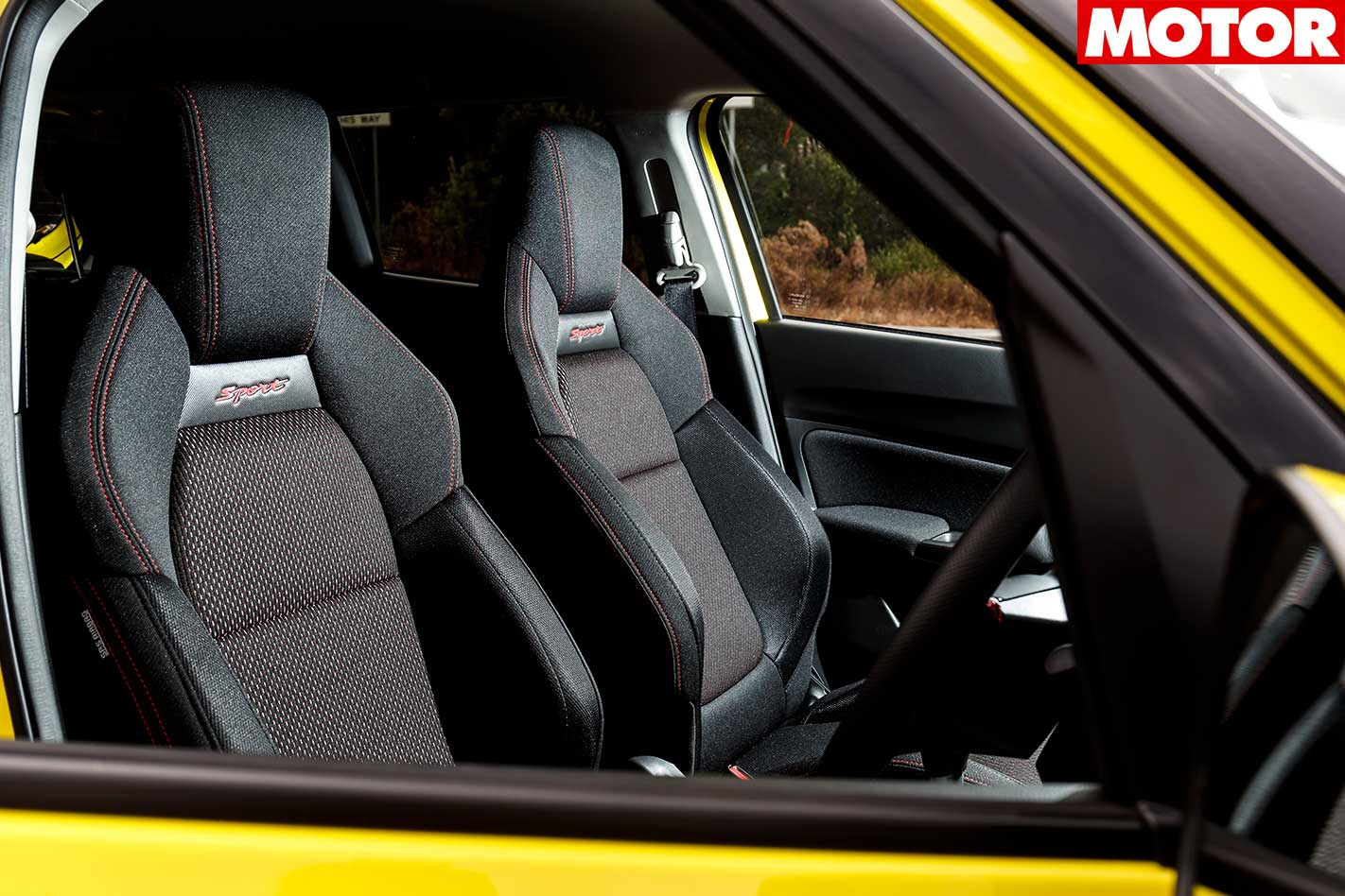 2018 Suzuki Swift Sport Seats