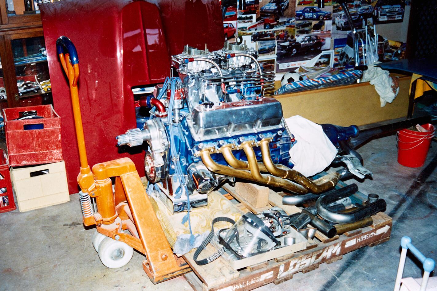 Rock Solid Falcon engine