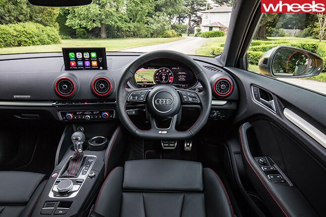 2017-Audi -S3-interior