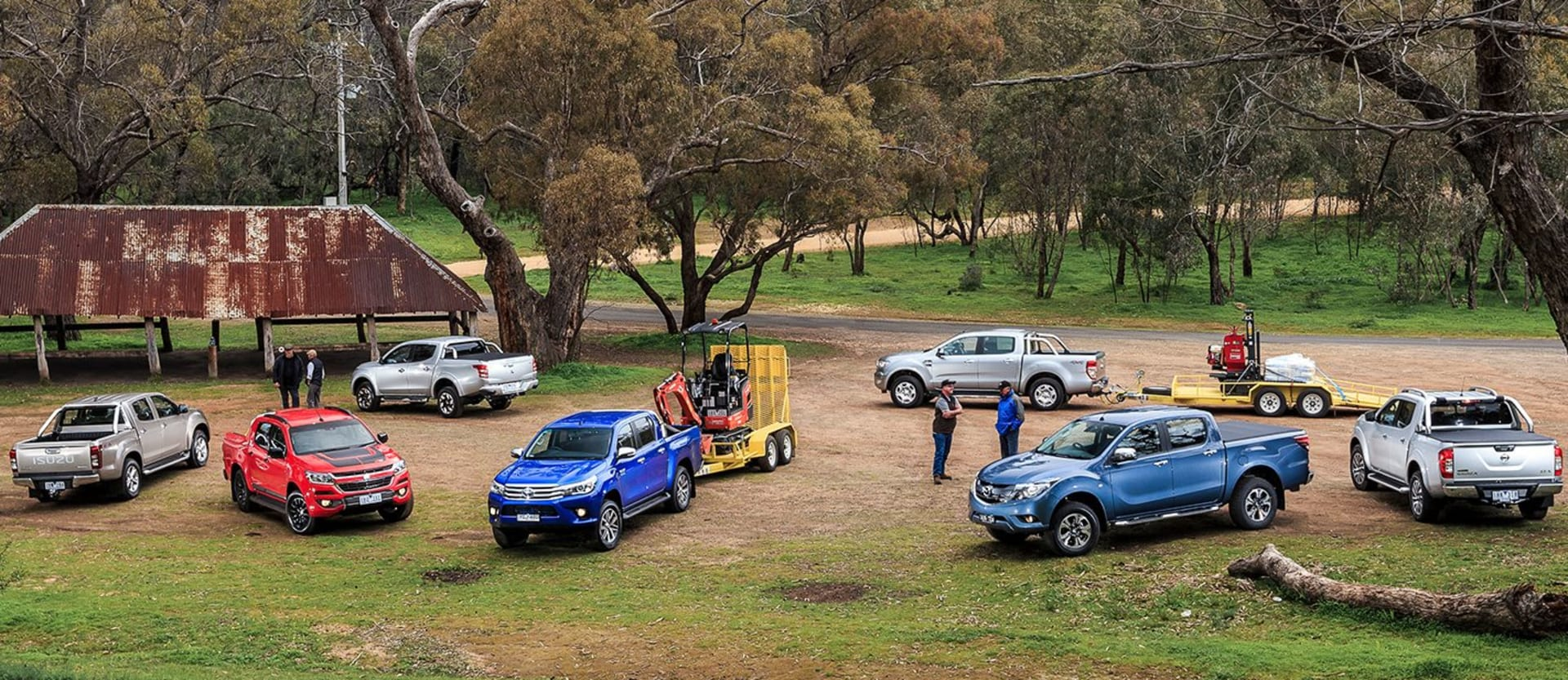 Tow and load 4x4 ute test