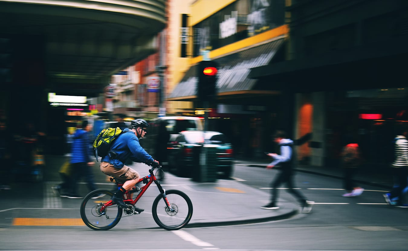 Road cyclist Melbourne Australia