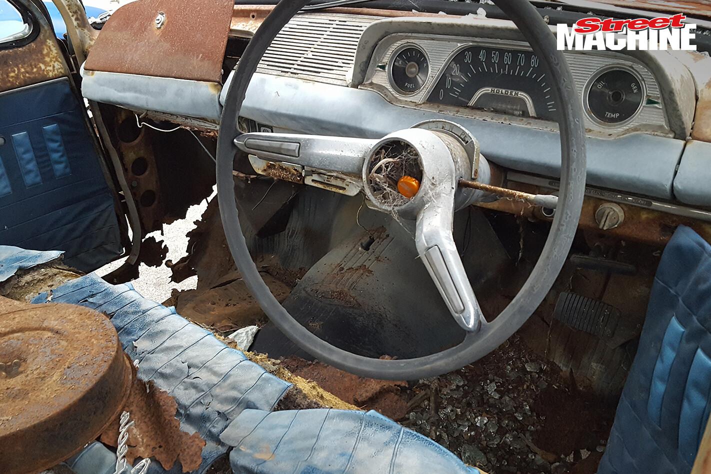 EH Holden Wagon Rusty Interior 3