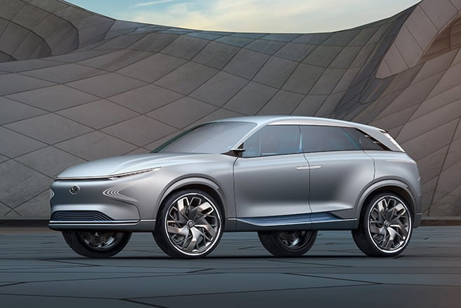 Hyundai FE Fuel Cell Concept side