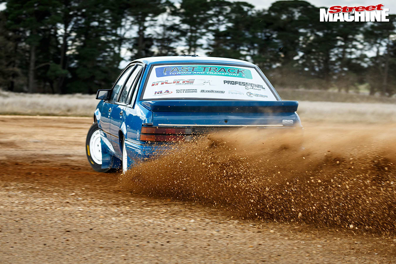 Holden VK Commodore rally car