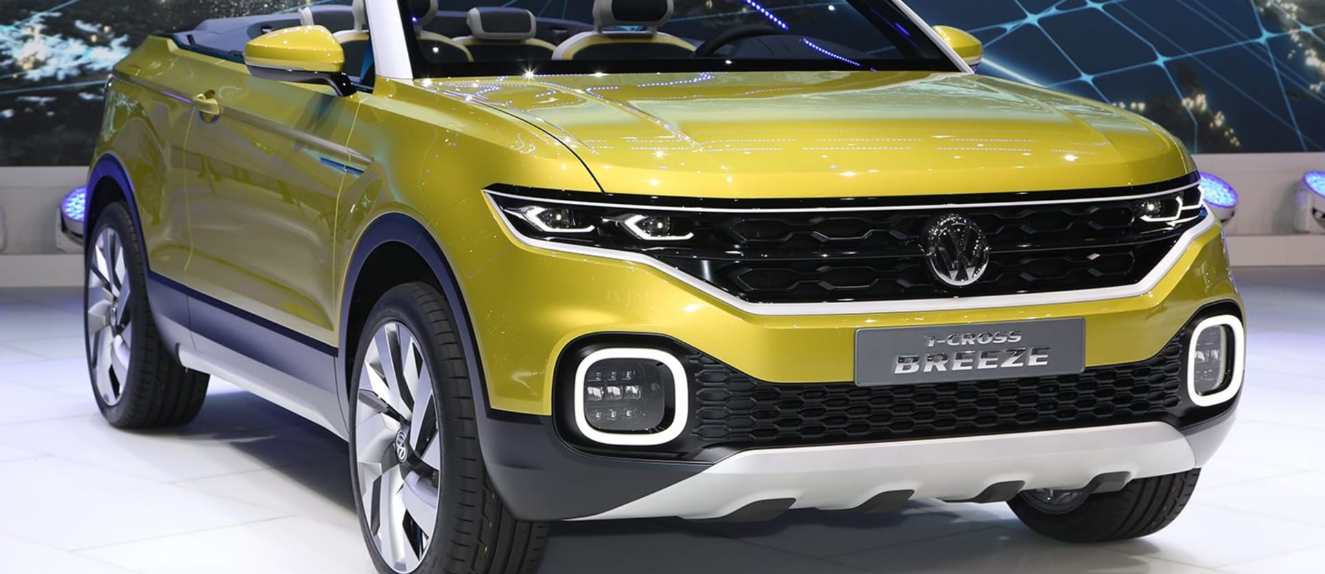 2016 Geneva Motor Show: Volkswagen T-Cross Breeze revealed