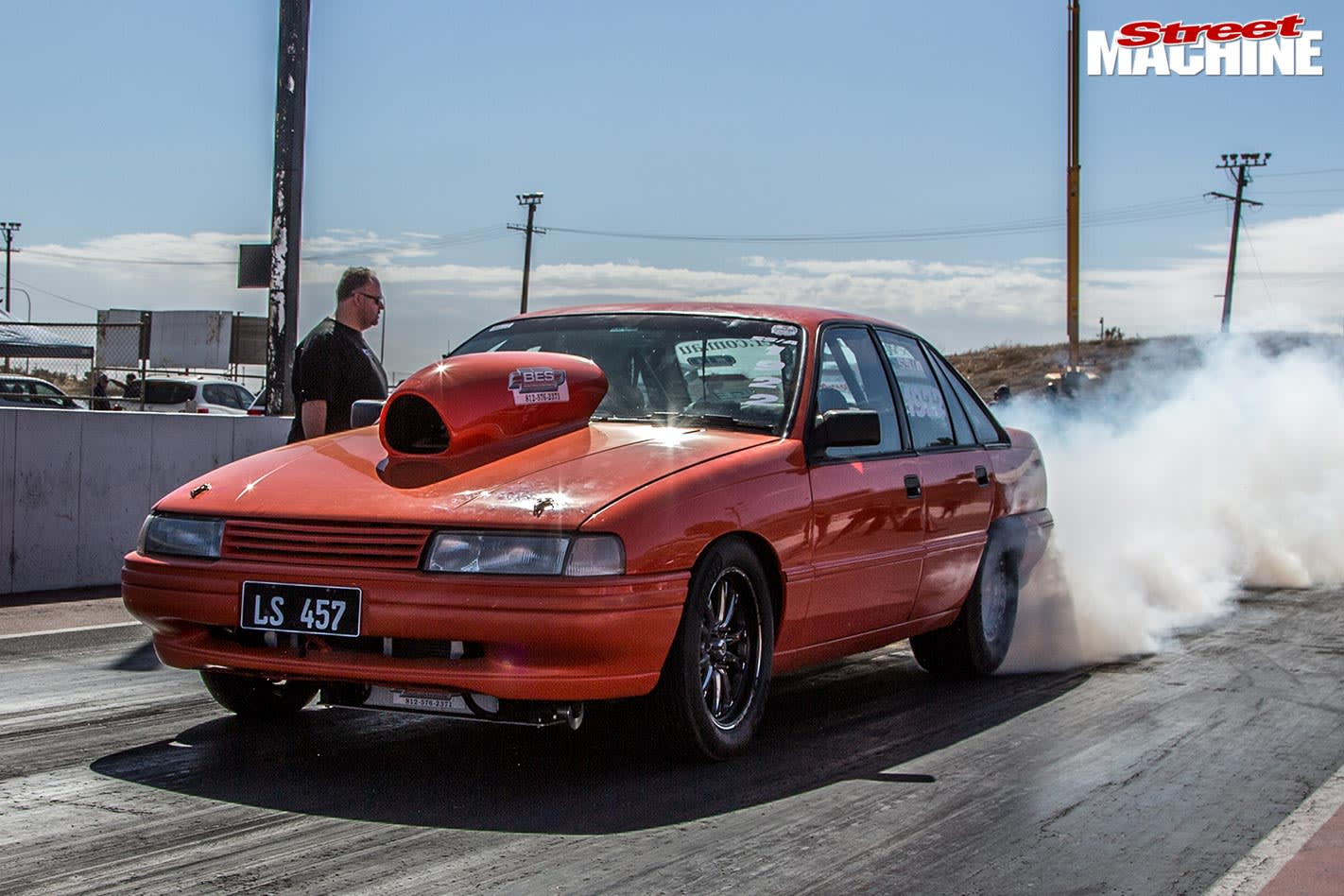Holden VN Commodore drag