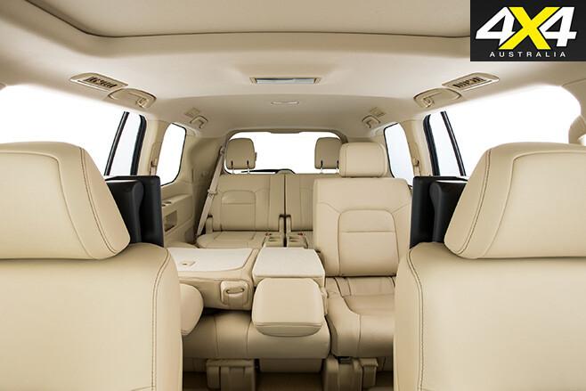 Land Cruiser 200 Series seats