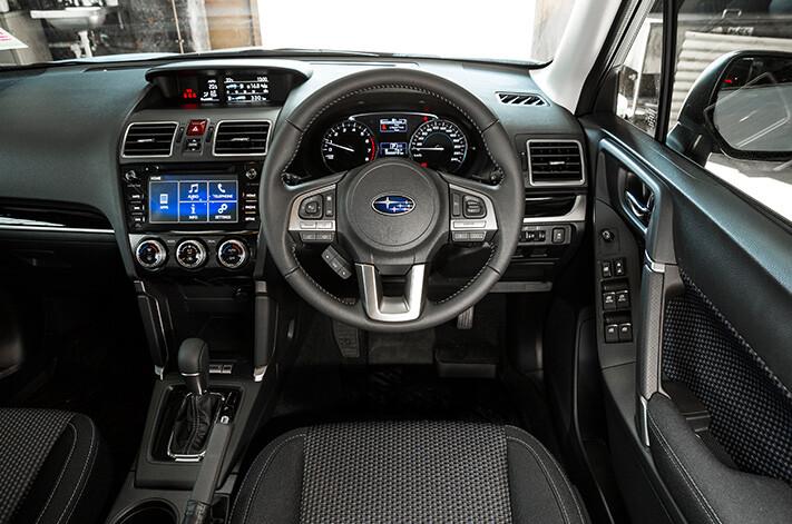 Subaru Forester Interior Jpg