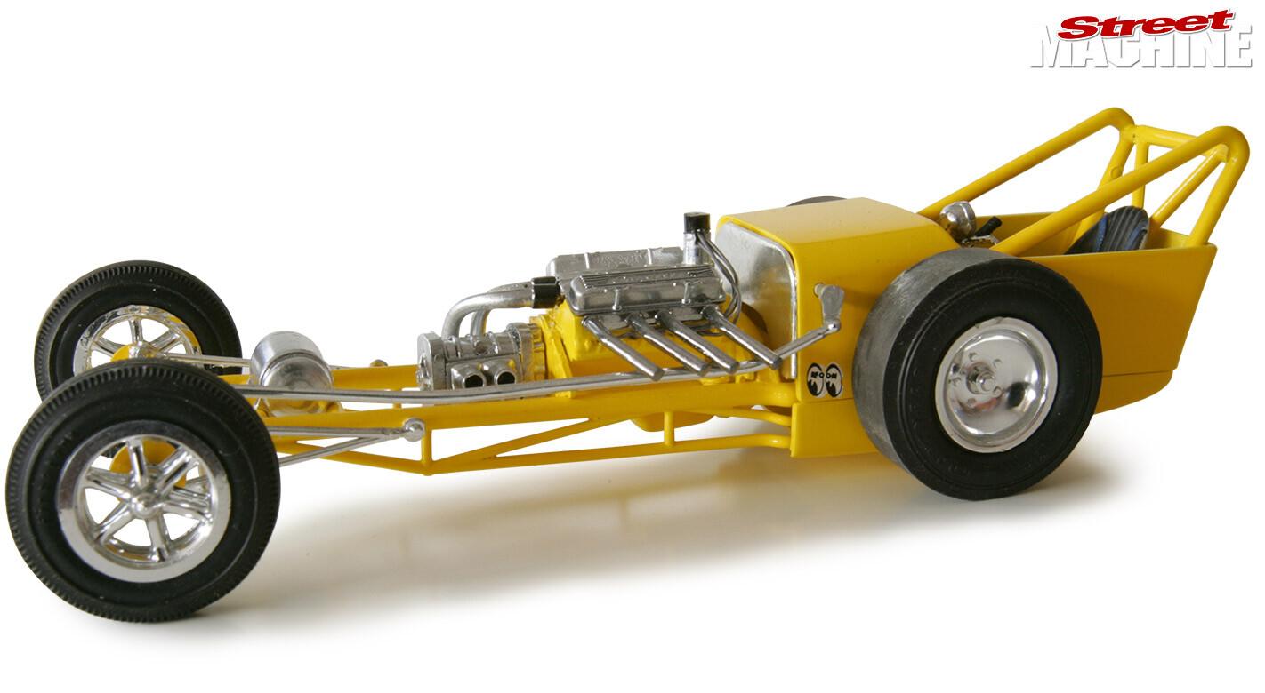 Mooneyes dragster model