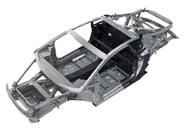 Lamborghini Huracan aluminium chassis
