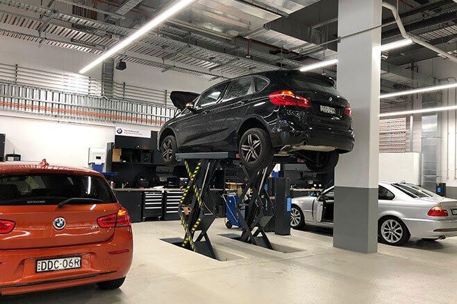 BMW Sydney Workshop