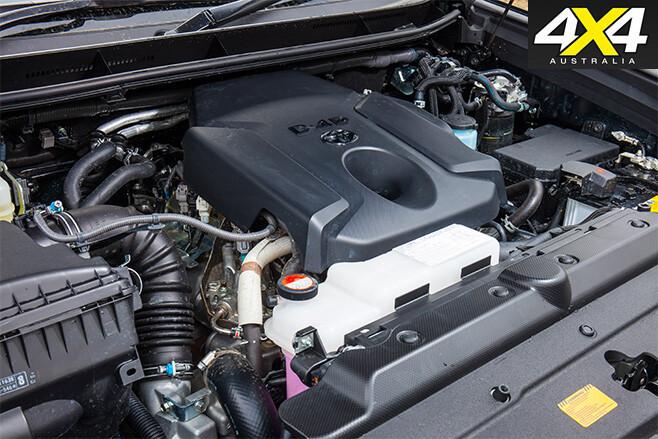Toyota prado 160 series engine
