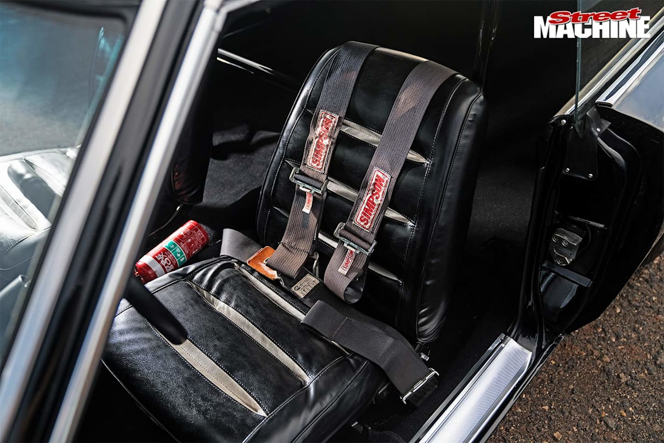 Dodge Charger front seat