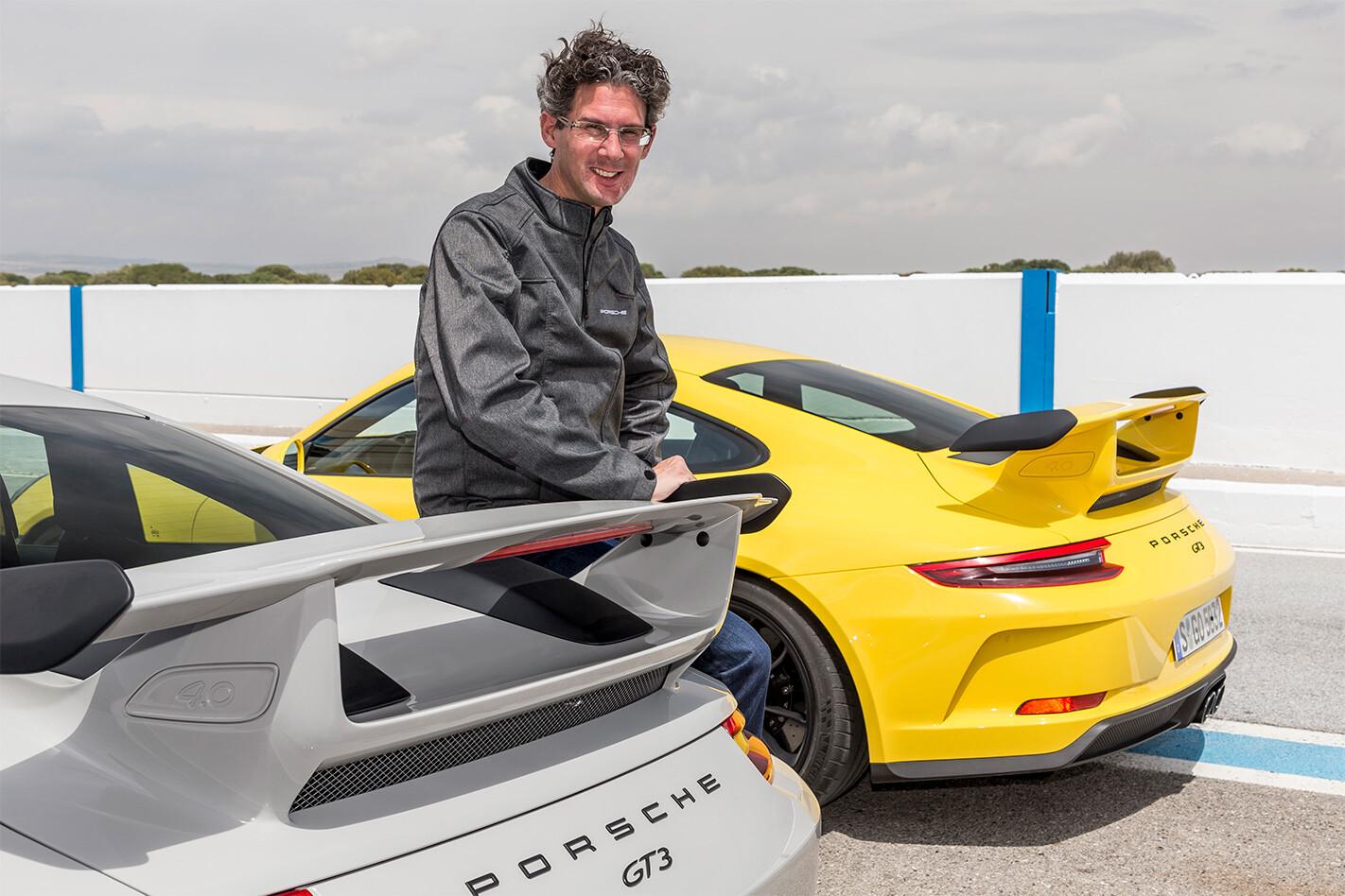 2018 Porsche 911 GT3 Frank Walliser