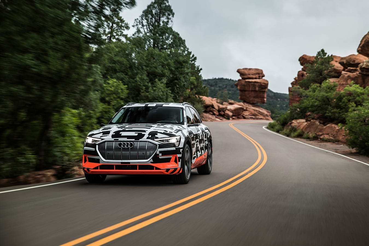 Audi E Tron Front Rolling Jpg