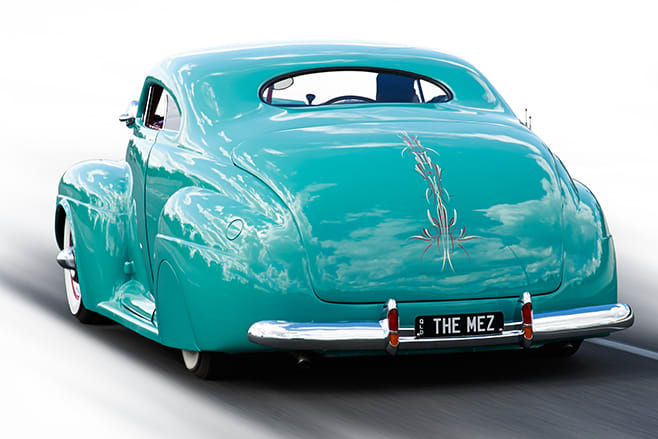 Mercury coupe rear