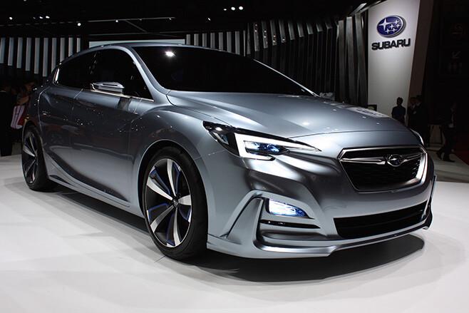 Subaru Impreza front side