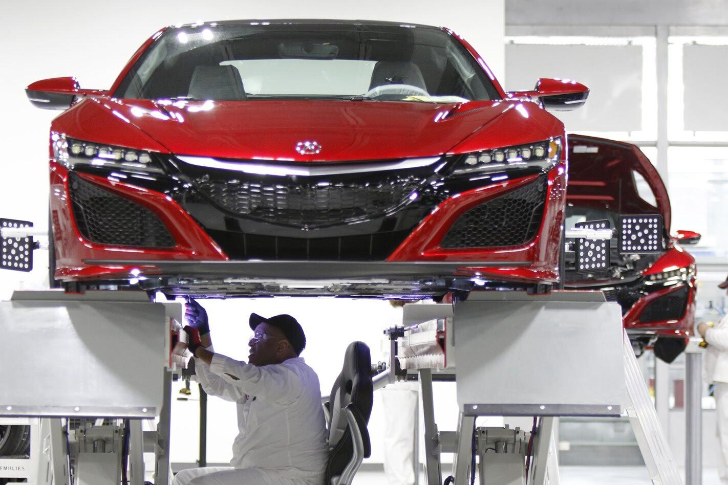New Honda NSX supercar