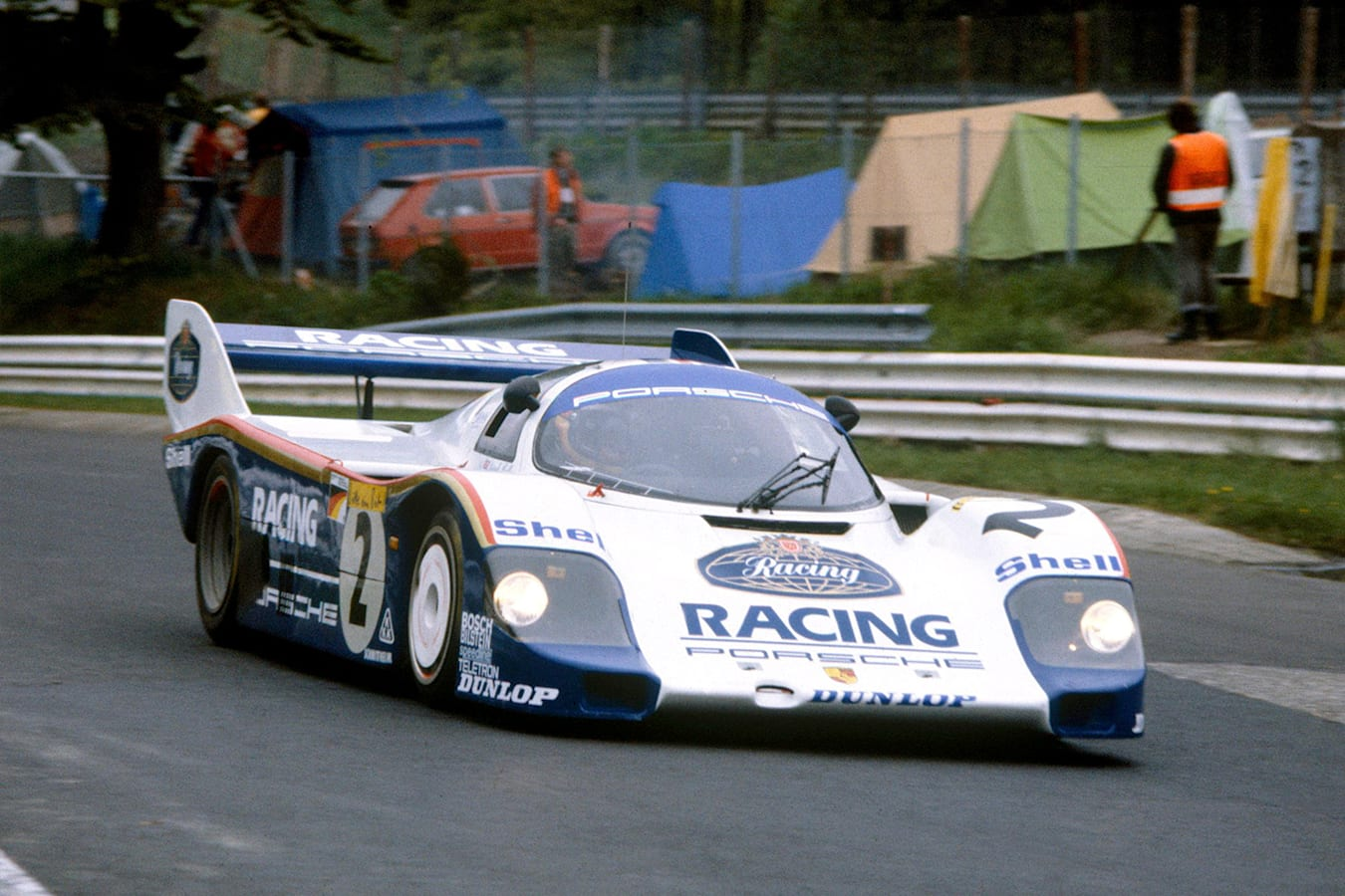 Stefan Bellof Nurburgring Record Porsche 956 Jpg
