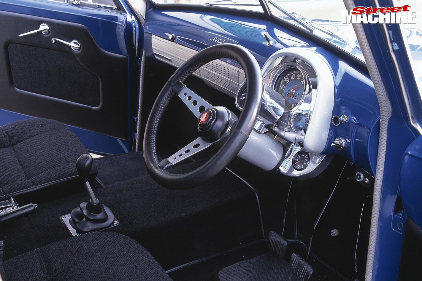 Holden FJ ute interior