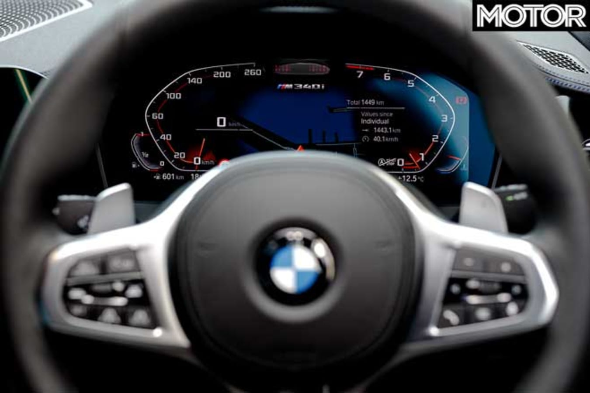 BMW M 340 I X Drive Instrument Cluster Jpg