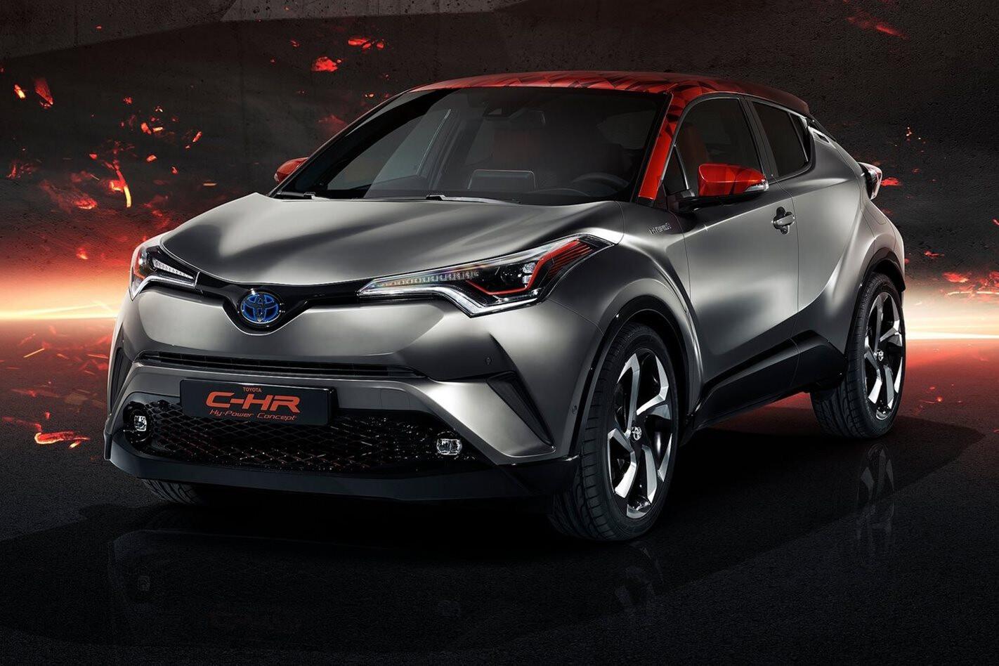 Toyota C-HR Hy-Power Concept previews future performance hybrids