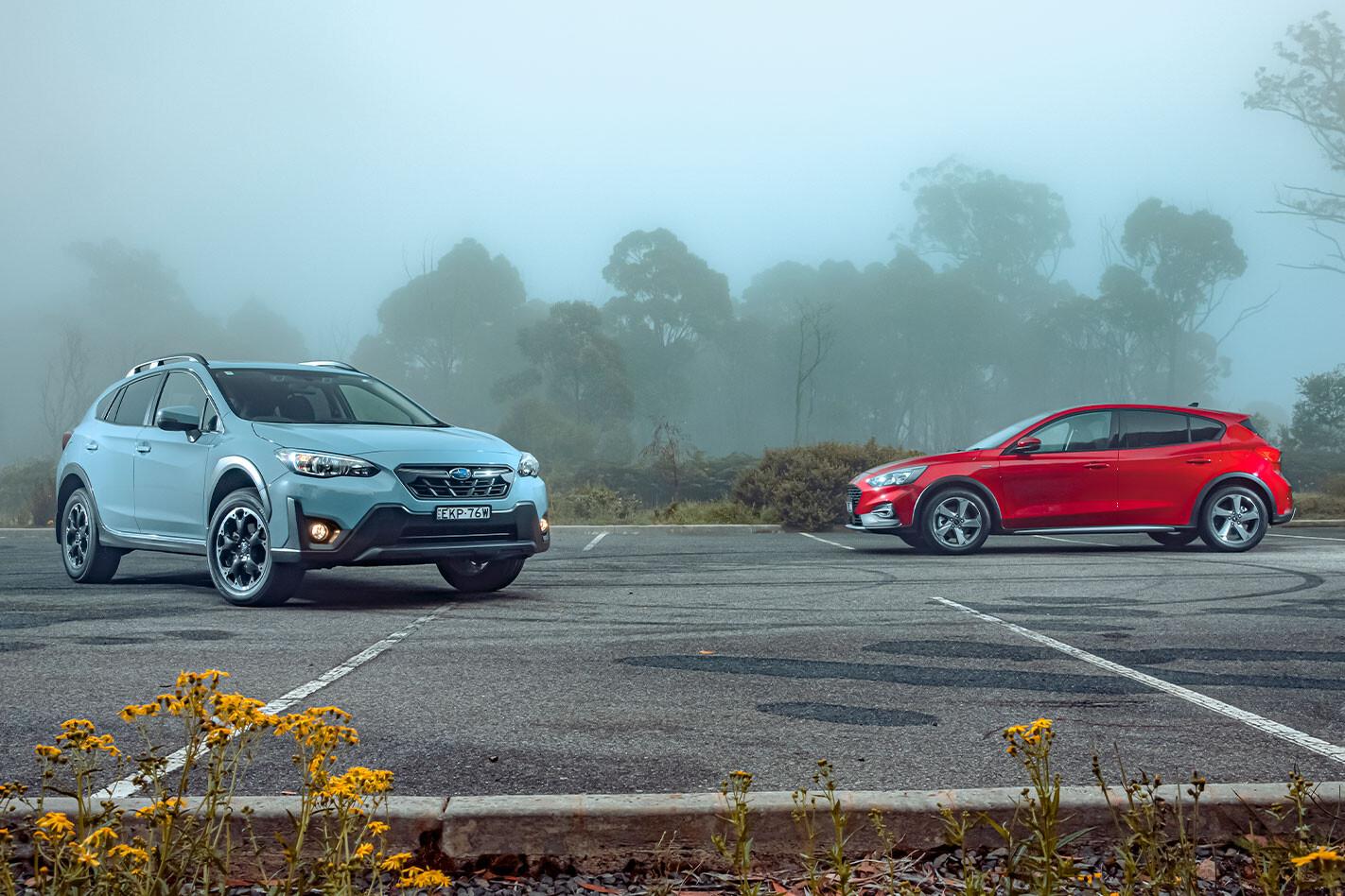 2021 Subaru XV 2.0 premium vs Ford Focus Active