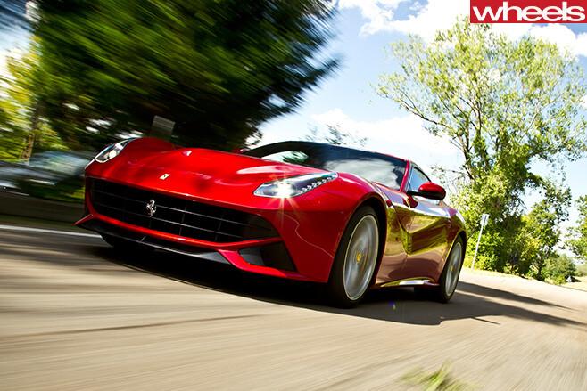 Ferrari -F12-front -side