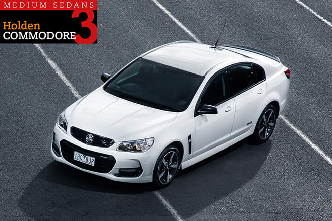 Holden -Commodore -SV6-Black -top -side