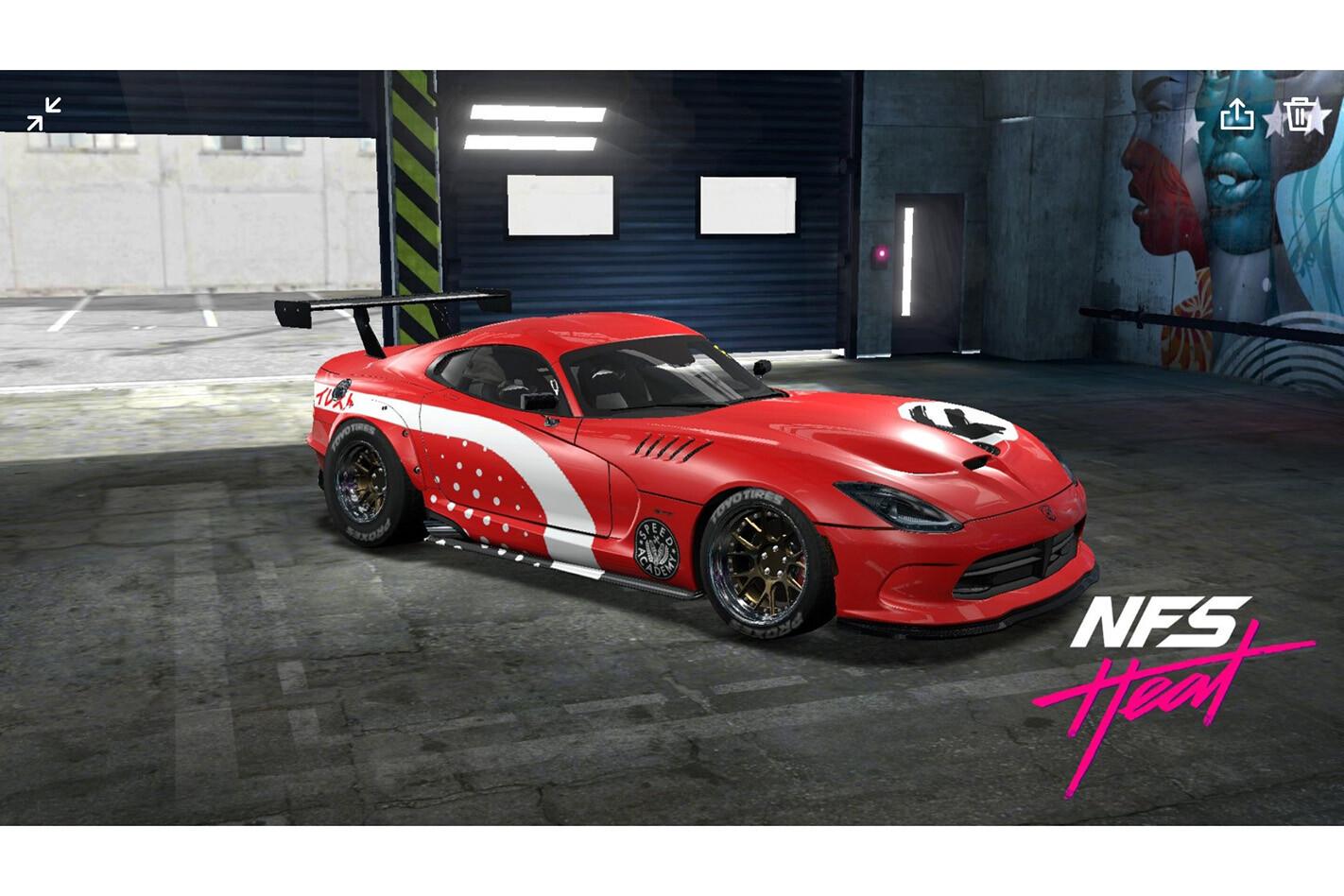 NFS Heat Studio Dodge Viper Front Jpg