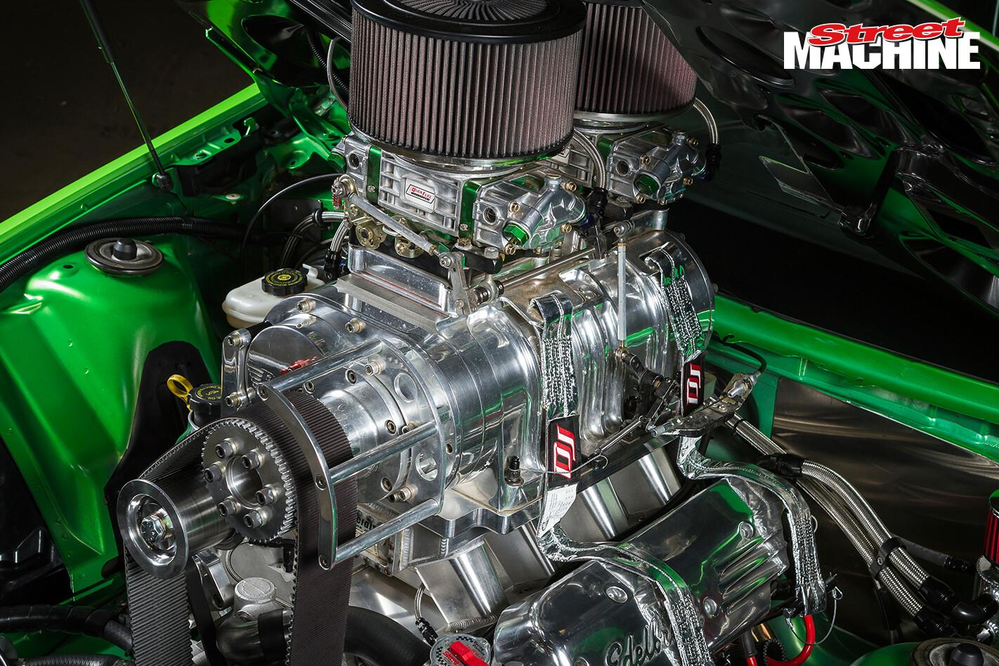 Holden VE Ute Blown LS Engine 2