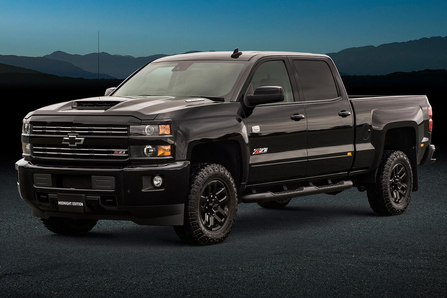 Chevrolet Silverado Black Jpg