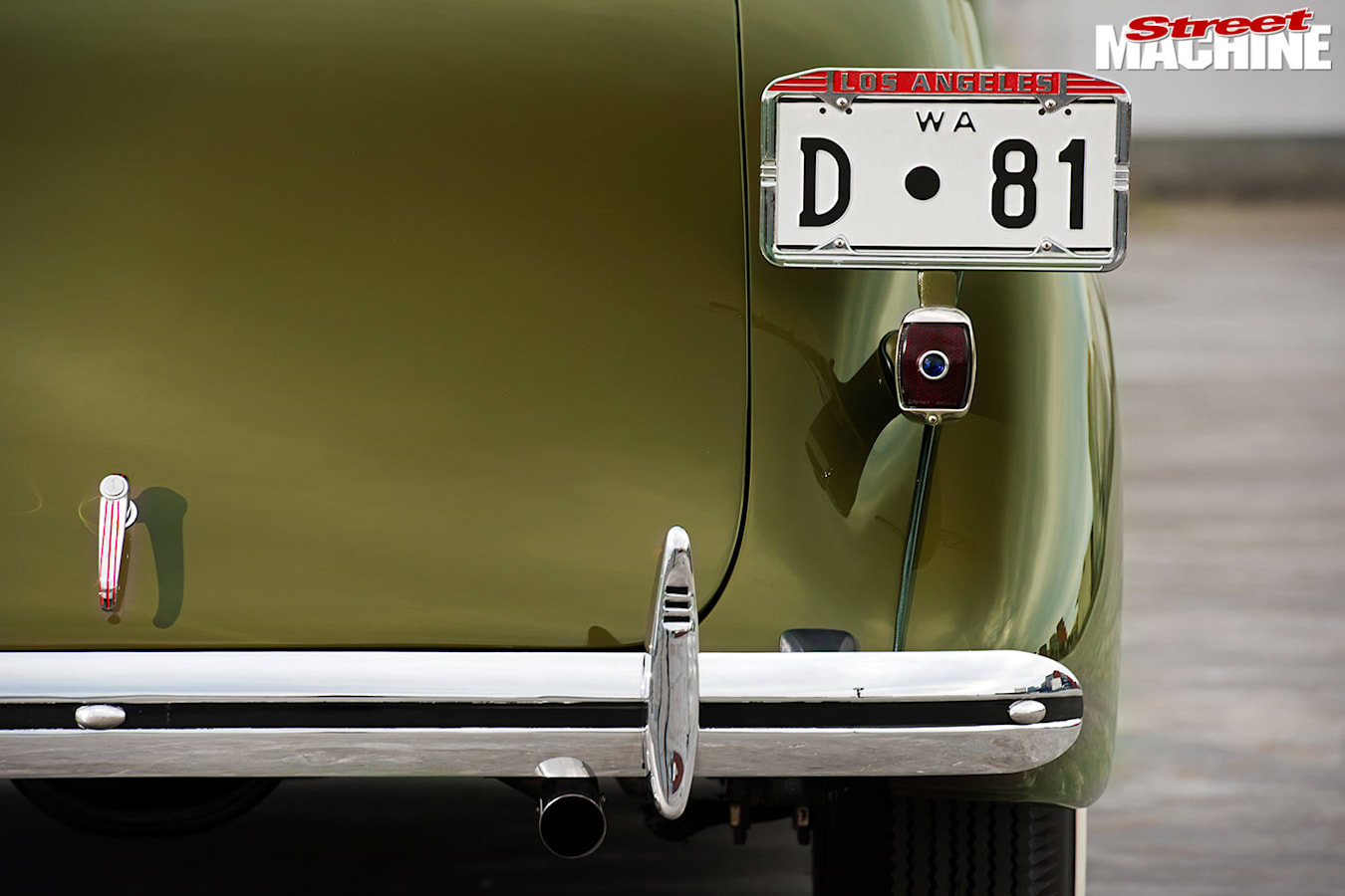Chevrolet coupe tail light
