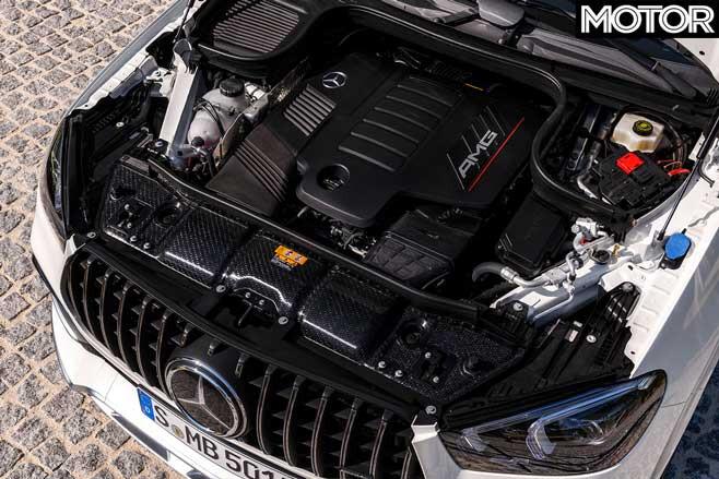 2020 Mercedes AMG GLE 53 Coupe Engine Jpg
