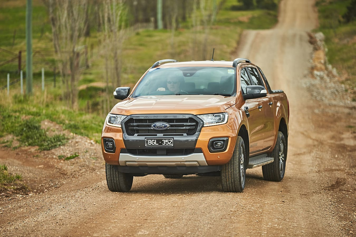 Ford Ranger Wildtrak driving