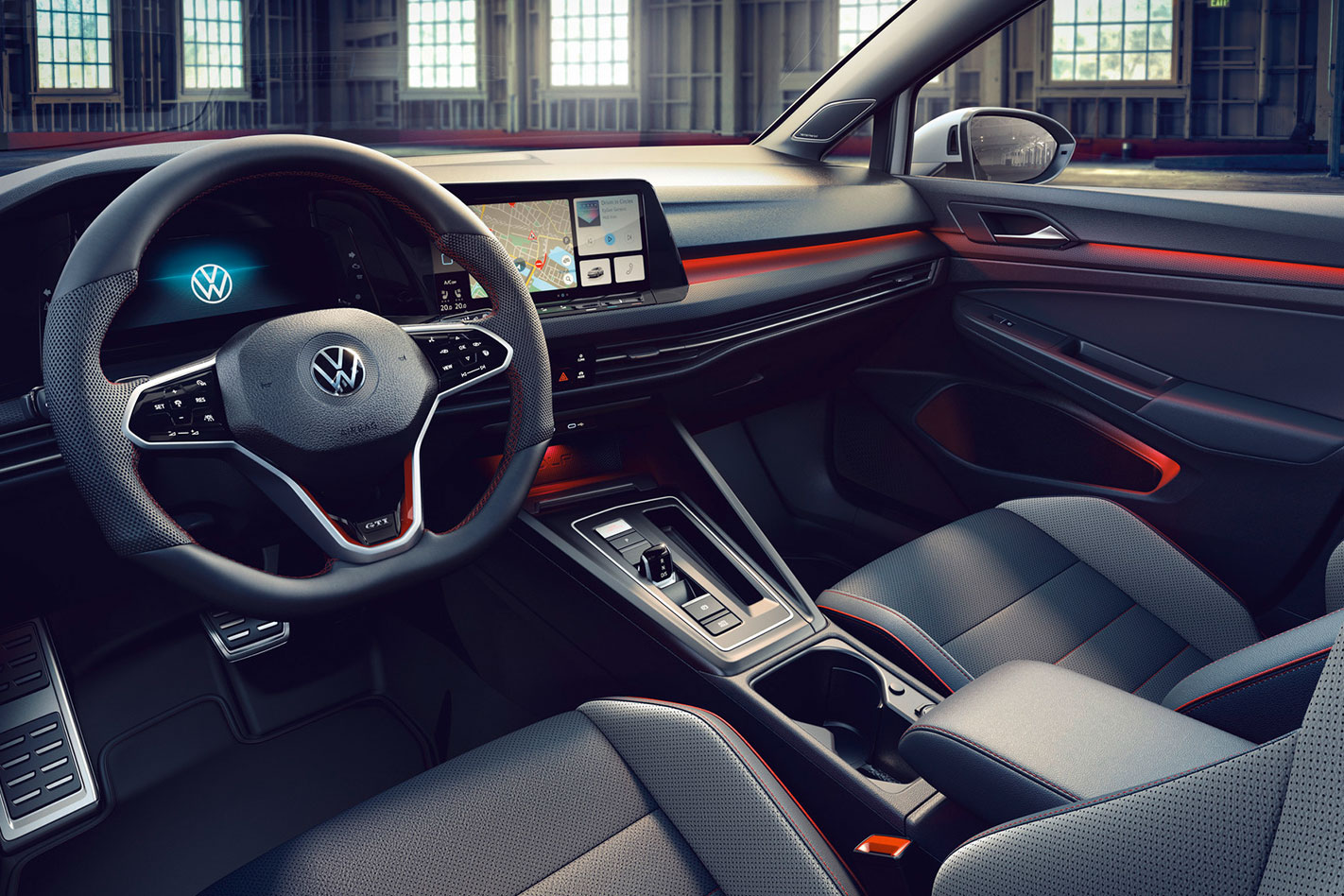 2020 VW Golf GTI Clubsport interior