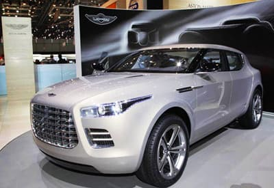 2009 Geneva Show - Aston Martin Lagonda concept