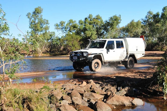 Condon to Marble Bar route WA 4x4 travel guide