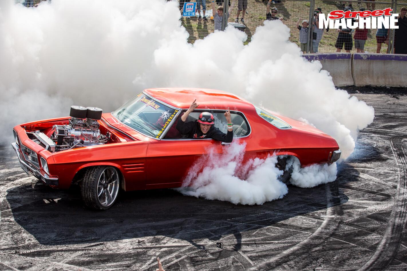 Holden HQ Monaro Burnout MRBADQ