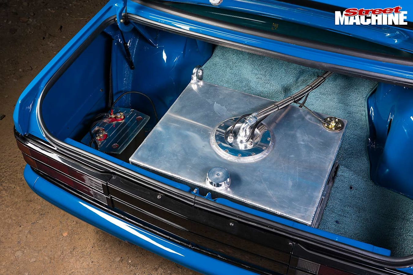 Holden VK Commodore boot