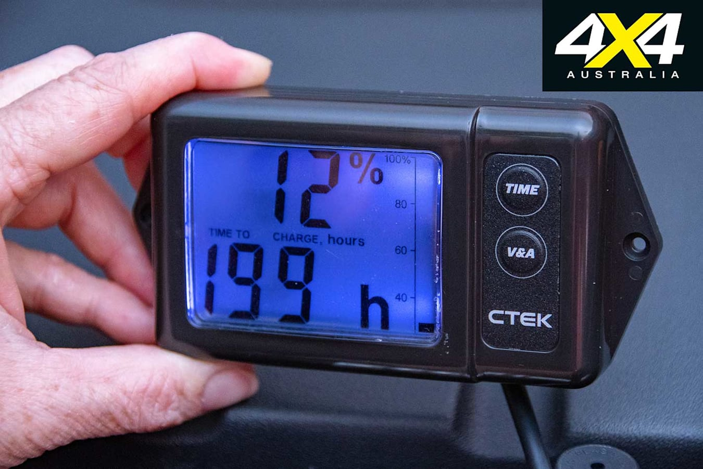 CTEK 140 A Dual Battery Management System Display Jpg