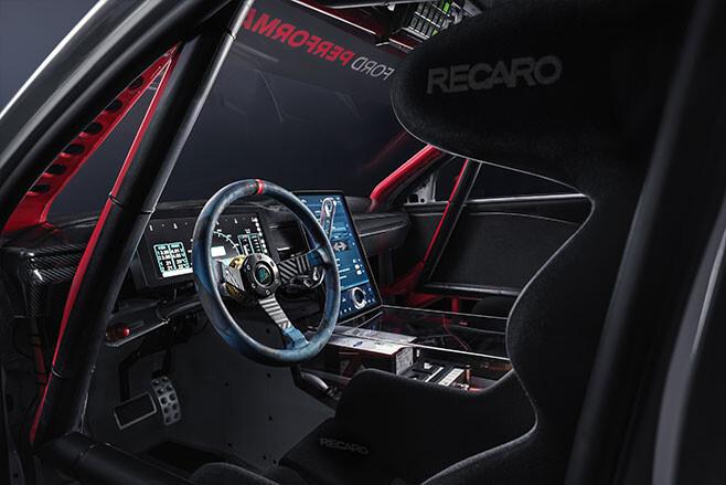 Ford Mustang Mach-E 1400 interior