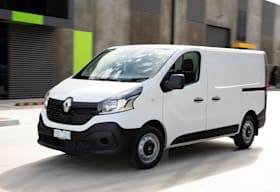 2019 Renault Trafic Traderlife Review Front Side Action Jpg