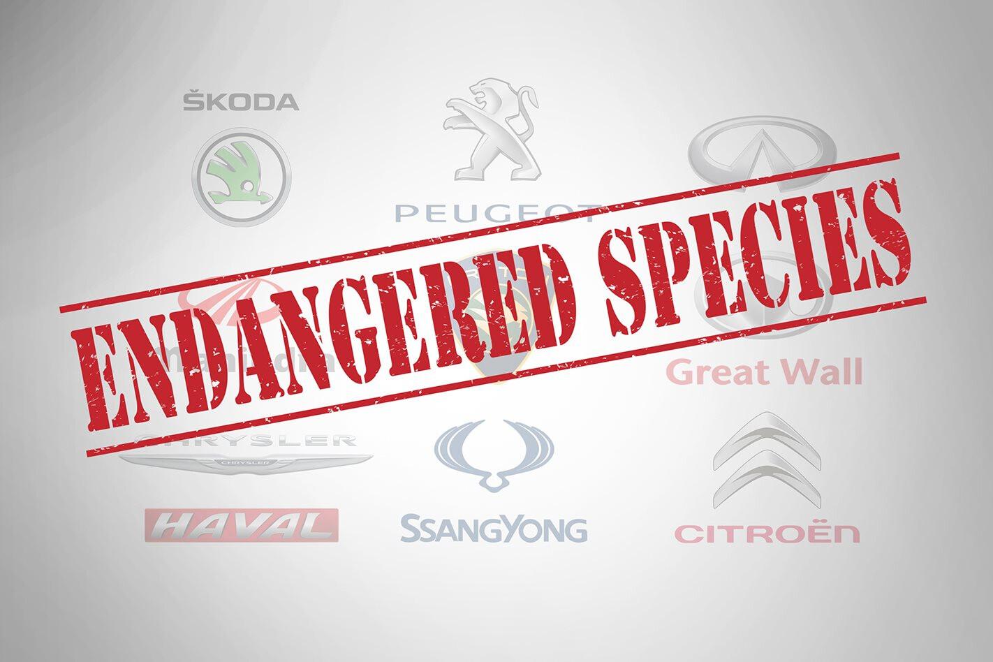 Australia's endangered car brands
