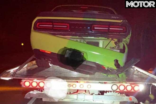 Dodge Challenger Hellcat Police Damage Jpg