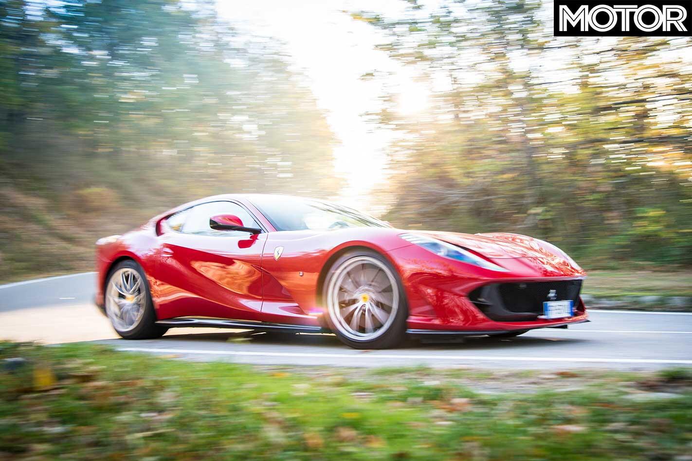 2019 Ferrari 812 Superfast Cornering Jpg