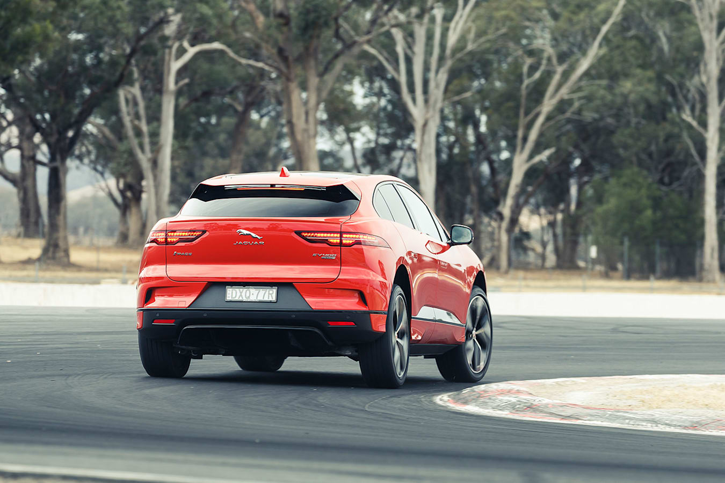 Jaguar I Pace Rear Jpg